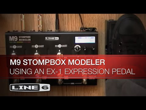 using an ex 1 expression pedal with line 6 m9 stompbox modeler youtube rh youtube com line 6 m13 manual line 6 m13 manual pdf