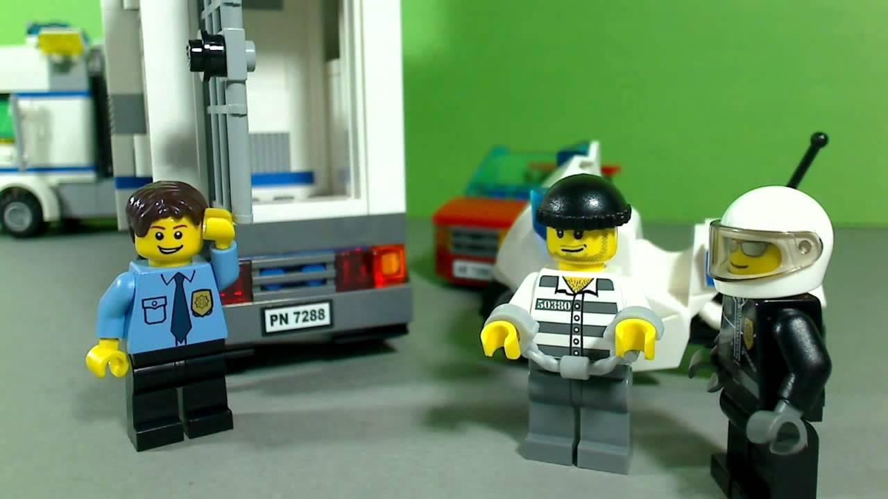 Lego City Mobile Police Unit 7288 Youtube
