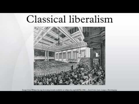 Classical liberalism