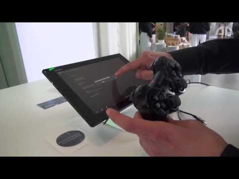 Sony Xperia Tablet Z & PS3 Controller Connection - English Hands-On - droidcon 2013 - androidnext.de