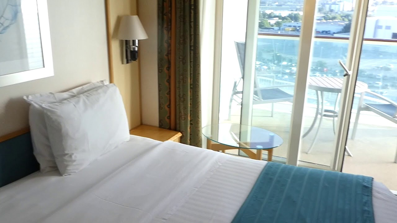 Oceanview Stateroom With Balcony And Sofa Bed Independence Of The Seas Room 9676