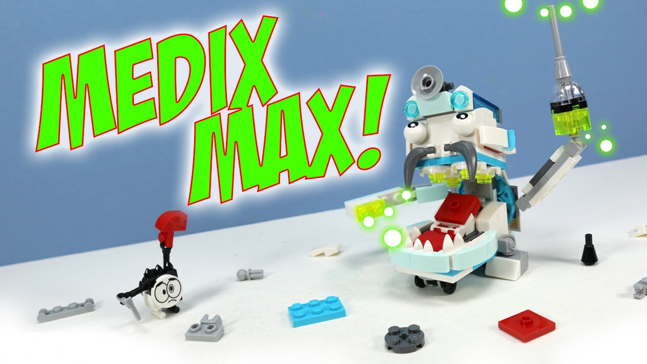 Lego Mixels Series 8 Medix Max Pdf Instructions Build Youtube