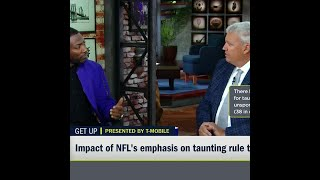 Rex Ryan & Ryan Clark agree: The NFL might be overreacting with its new taunting rule | #Shorts