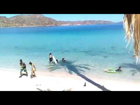 Mulege baja california sur playa el coyote