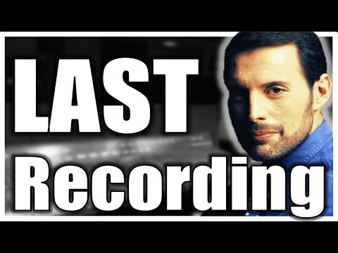 Freddie Mercury Last Vocal Recording - Fine Arts