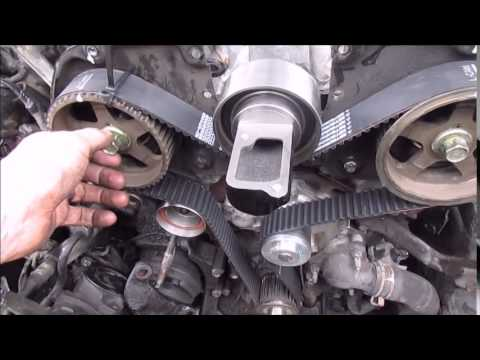 Timing Belt 3vze - YouTube