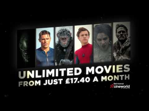 Welcome to Cineworld Unlimited