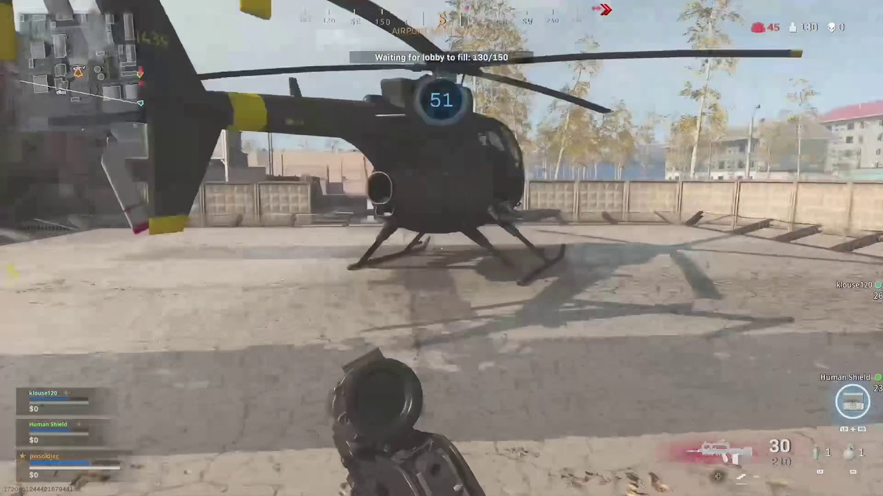 Warzone Ghost Ride the Chopper