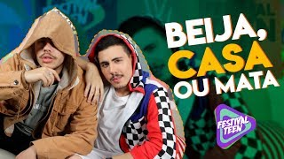 Baixar BEIJA, CASA OU MATA com Renan Cavolik e Laddy Nada   Festival Teen TV