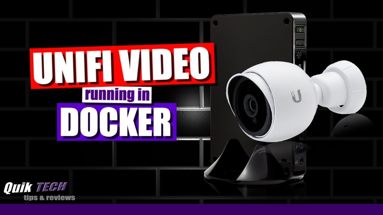 How To Run Unifi Video In Docker On A Synology NAS