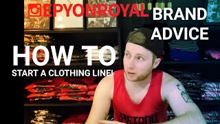 Starting A Clothing Brand For FREE: Part 3