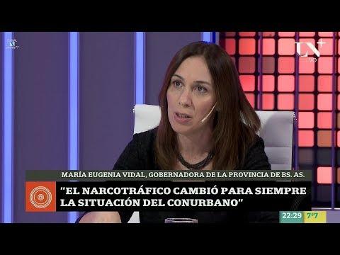 """María Eugenia Vidal en """"Odisea Argentina"""" de C.Pagni - 12/06/17"""