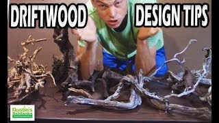Driftwood Design Tips, Playing with Driftwood in you Planted Aquarium
