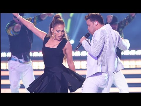 Jennifer Lopez 'Back It Up' with Prince Royce During American Idol Finale Performance