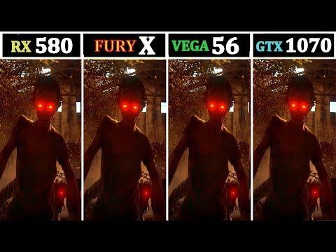 1440P & 1080P | RX 580 vs R9 FURY X vs GTX 1070 vs VEGA 56 |