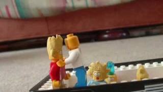 lego simpsons thanksgiving