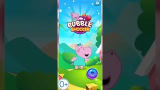 Hippo 🌼 Bubble Shooter 🌼 Pop Bubbles for Kids 🌼 Teaser-1 9х18 0+ screenshot 4