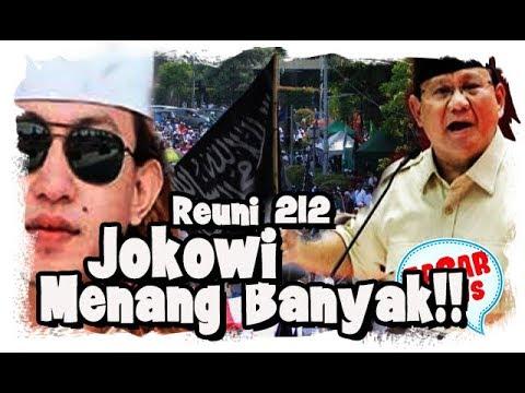 212 Reuni Yang Berakhir Menguntungkan Jokowi