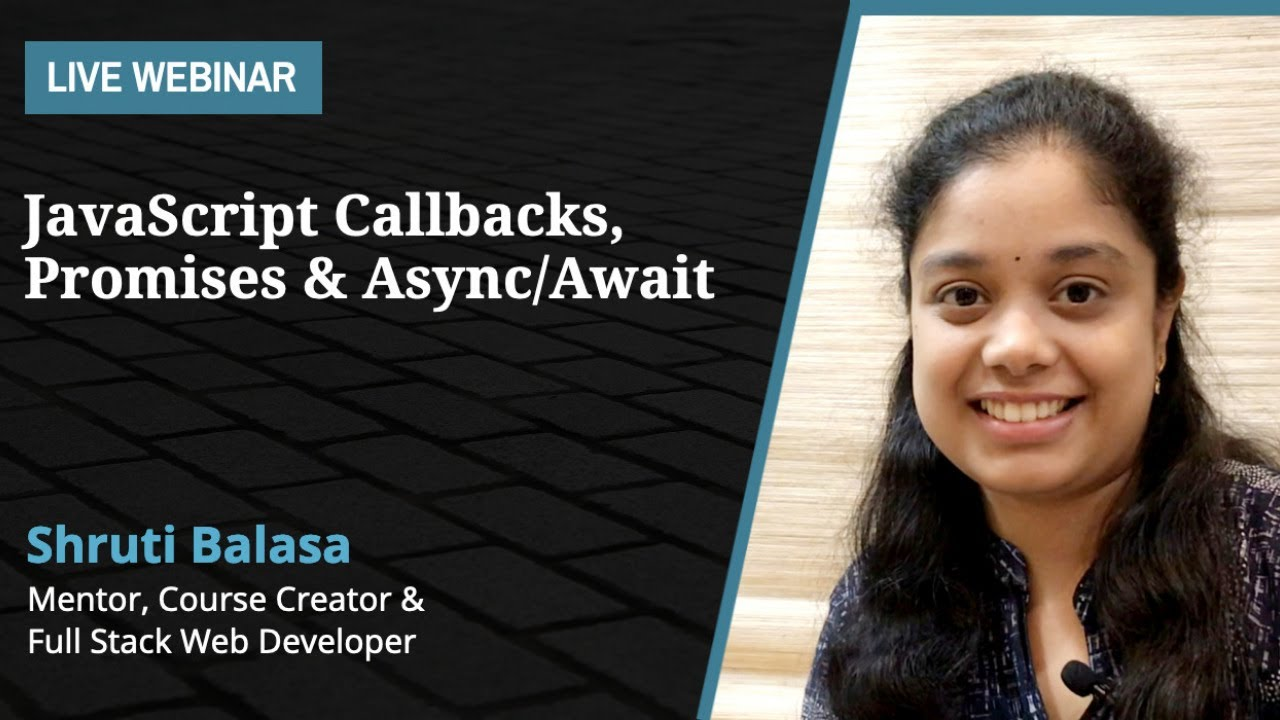 JavaScript: Callbacks, Promises & Async/Await