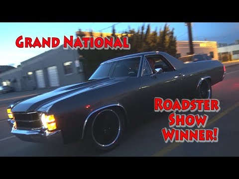 2018 Grand National Roadster Show Winner. NRE BBC El Camino.  Its a beauty!