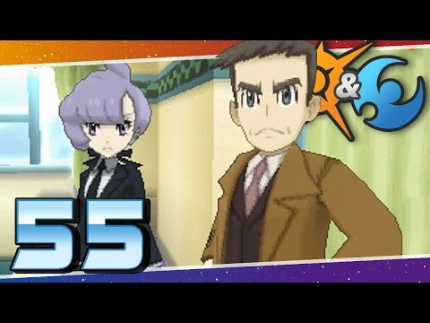 Pokémon Sun and Moon - Episode 55 | Looker Returns! The Ultra Beast Quest Begins!