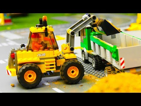 Fire Truck, Concrete Mixer, Garbage Trucks, Dump Truck & Tractor Construction Toy Vehicles For Kids