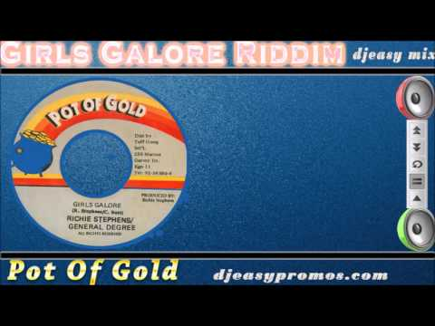 Girls Galore Riddim 1996 {Pot of Gold} mix by djeasy