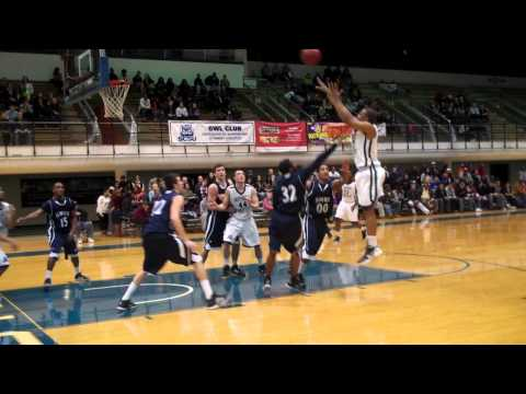 Greg Langston jumper vs  SNHU