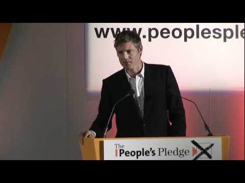 Zac Goldsmith MP, People