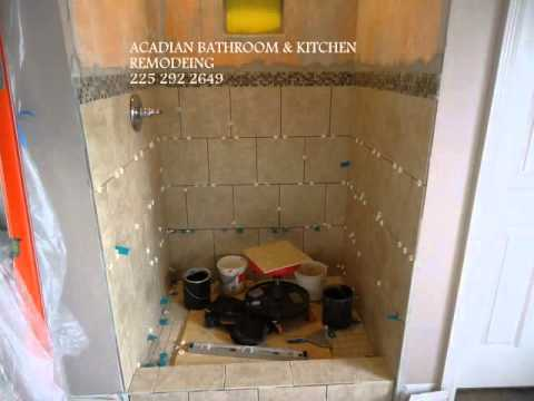 Bathroom Remodeling Baton Rouge acadian bathroom remodeling baton rouge, la - youtube