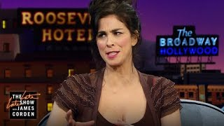 Michael Sheen's Gift to Sarah Silverman