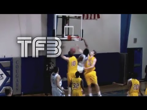6'3 Michael Craig with One of the SICKEST Game Dunks EVER on TWO 7 FOOTERS!