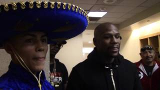 FLOYD MAYWEATHER & DANIEL GONZALES ON THE MONEY TEAM LINK UP & FLOYDS BELIEF HE WILL BE A MEGA STAR!