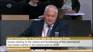 John Lang La Salle in the Oireachtas Banking Inquiry