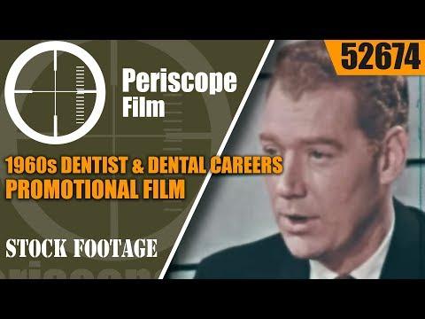 1960s DENTIST & DENTAL CAREERS PROMOTIONAL FILM