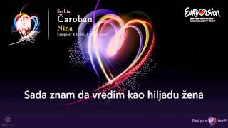 "Nina - ""Čaroban"" (Serbia) - [Karaoke version]"