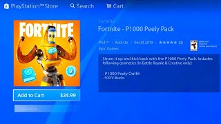 HOW TO GET NEW P-1000 PEELY SKIN PACK! FORTNITE NEW P-1000 PEELY SKIN EDIT STYLE! NEW PEELY SKIN