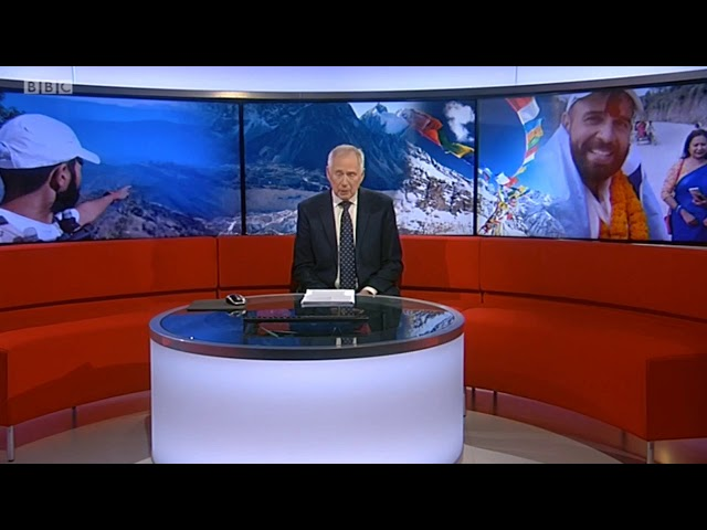 BBC Midlands Today feature about my #RunAcrossNepal