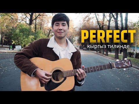 Урмат Токомбаев - PERFECT (кыргыз тилинде) | KYRGYZ COVER