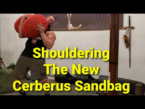 First Time Training With The Cerberus Sandbag