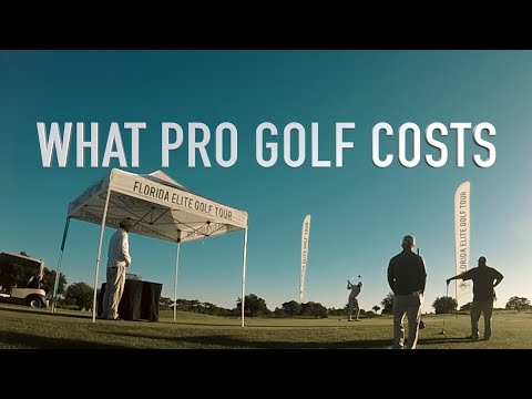 What Professional Golf Costs