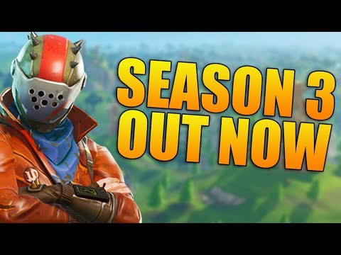 NEW BATTLE PASS, OUTFITS, GUN, AND UPDATE! - Fortnite Battle Royale Season 3 - (Fortnite Gameplay)