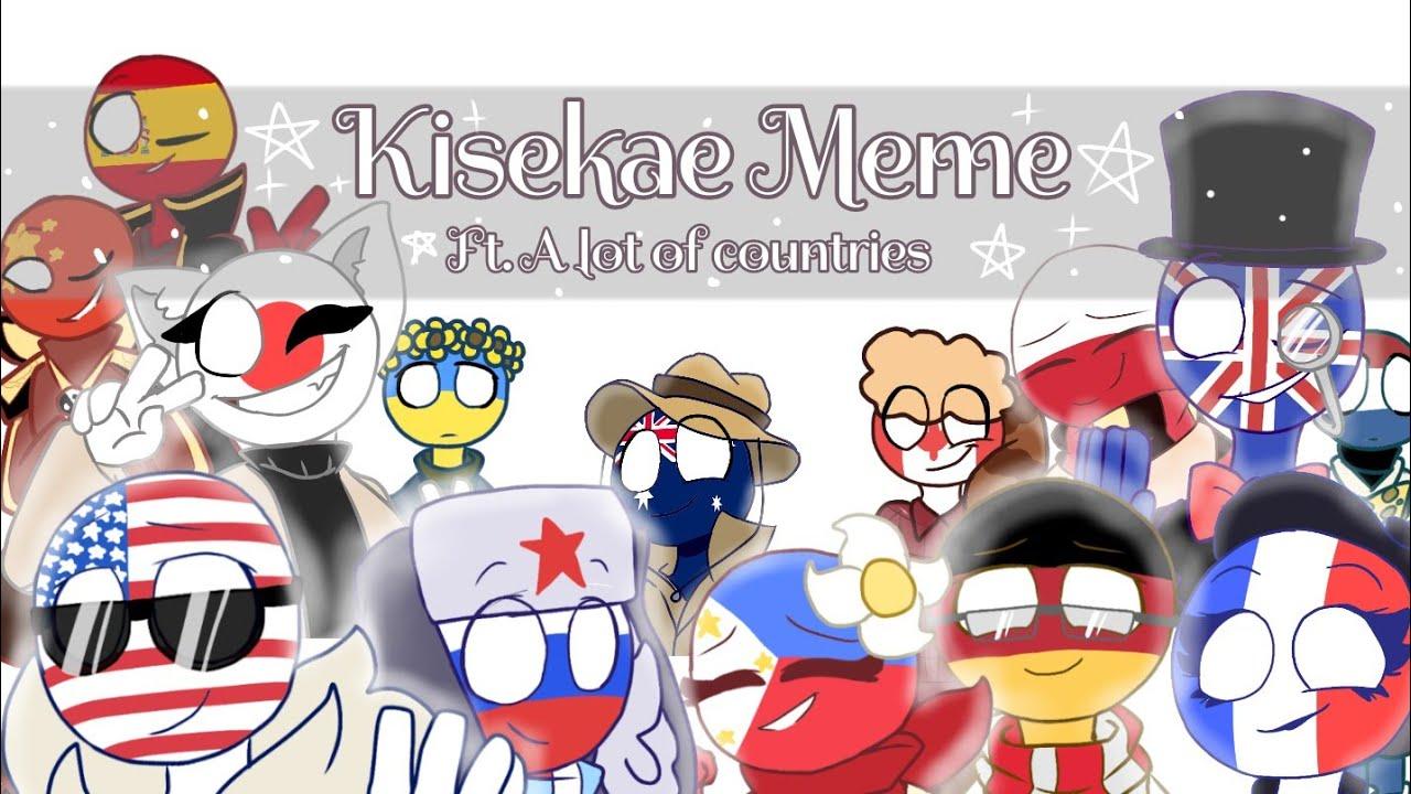[Countryhumans] KISEKAE | Meme - YouTube