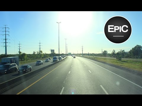 Autopista Buenos Aires-La Plata / Buenos Aires-La Plata Highway - Argentina (HD)
