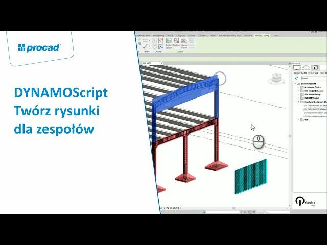 DYNAMOScript - Twórz rysunki dla zespołów