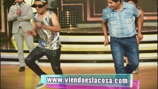 """Aparece el """"Rey"""" de la cumbia CHICHA y confronta a Ronald Ramos por su baile"""