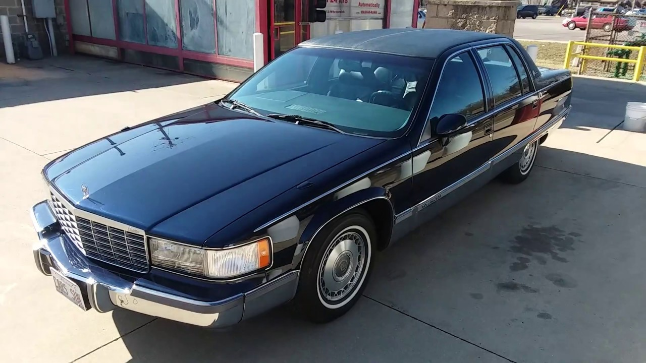 1993 Cadillac Fleetwood Brougham SOLD - YouTube