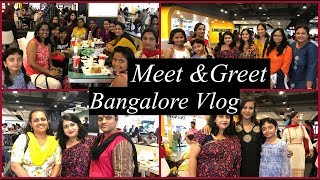 My First Meet Greet Bangalore Vlog Unboxing Of Gifts Simple Living Wise Thinking