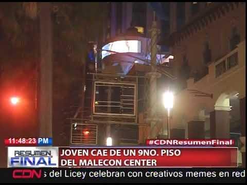 Joven cae de un 9no piso del Malecón Center