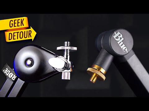 Blue Compass VS Rode PSA1: Best Boom Arm Setup; Blue Yeti Setup Comparison